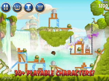 Играть в игру Angry Birds Star Wars