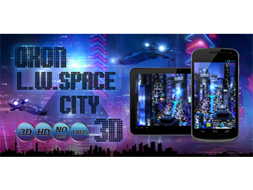 Space City Free 3D Live Wallpaper