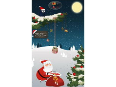 GO Locker Santa Claus Theme