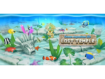Ocean Aquarium 3D Lost Temple