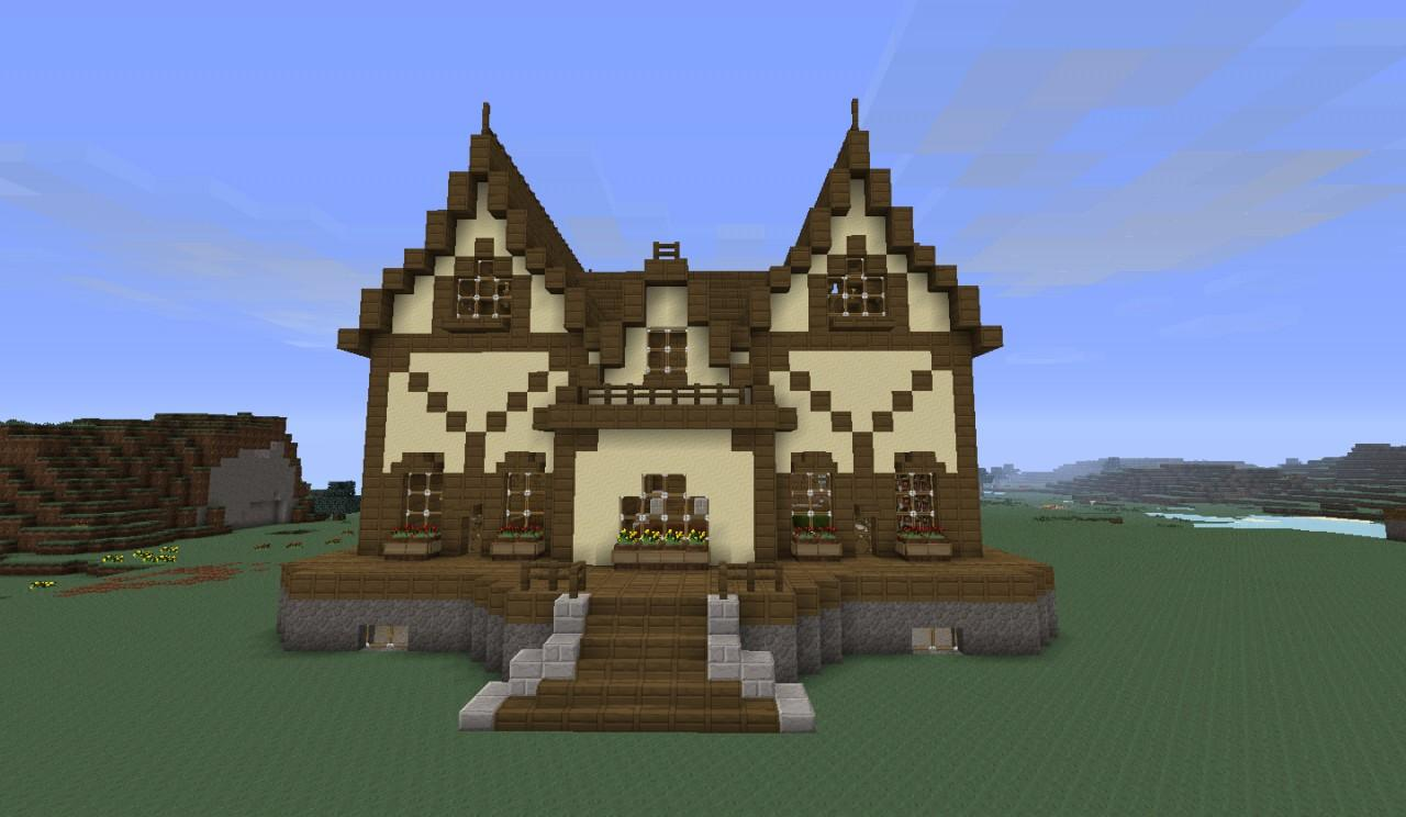 Download amazing minecraft huis voor android for Maison classique minecraft