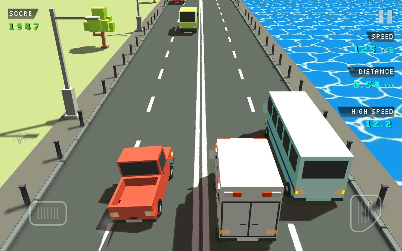 скачать игру traffic racer на андроид