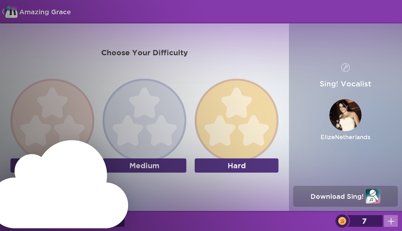 C magic piano by smule