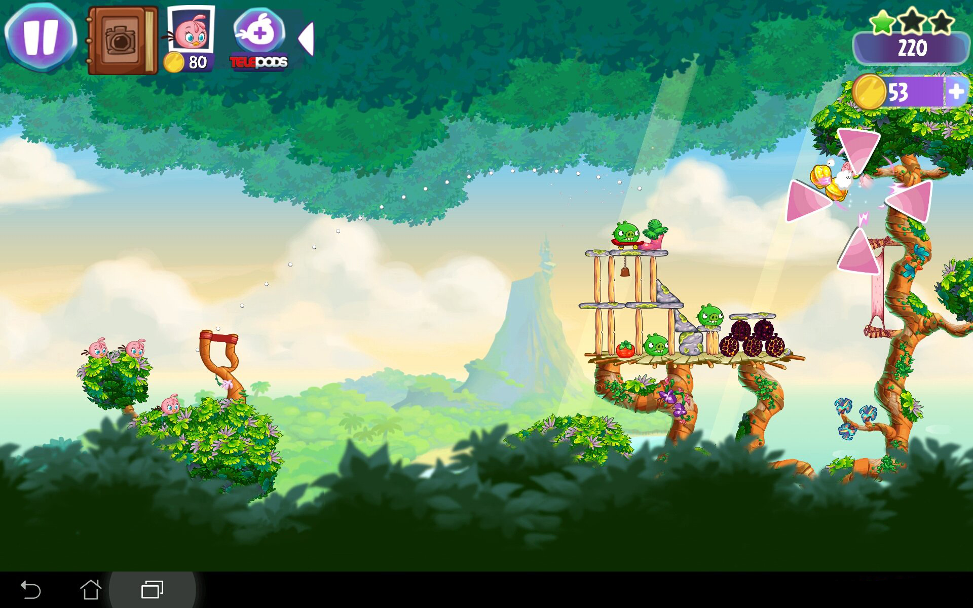 Angry Birds Stella Для Андроид