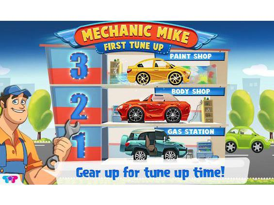 המכונאי מייק - ראשית Tune Up