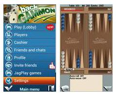 JagPlay Backgammon online