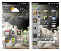 TSF Shell Sky Theme HD
