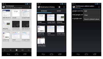 Tint Browser + Adblock