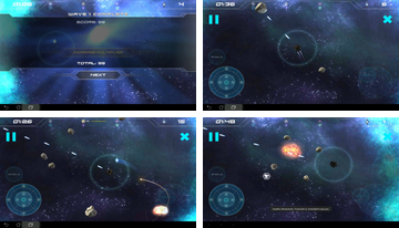 Augmented Reality Asteroids