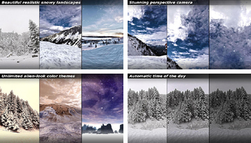Winter 3D Live Wallpaper
