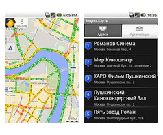 android yandex maps