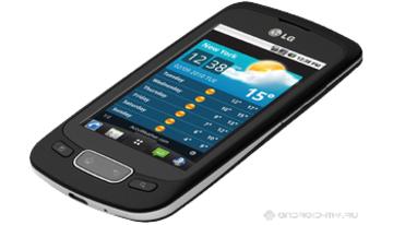 LG Optimus One P500 получил свой «пряник»