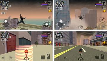 Policía vs 3D Gángster de Nueva York