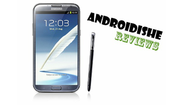 Samsung Galaxy Note II yorum