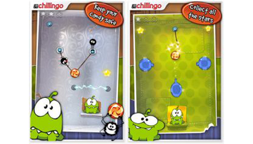 In the Android Market Game Cut the Rope has become an absolute leader in sales