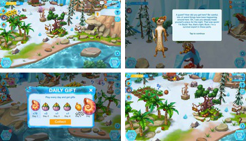 Ice Age Welt