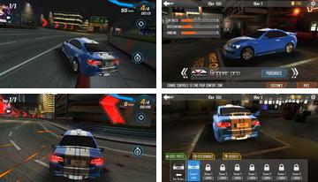 Car Racing 3D: En lo alto de Combustible