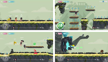 Spirit Run: Multiplayer Bitva