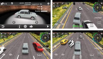 Real 3D Racer Crash trafic
