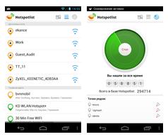 Hotspotlist - Free WiFi