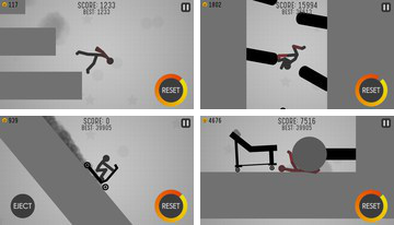 Dismount Stickman Turbo