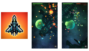 Dvīņi Strike Space Shooter